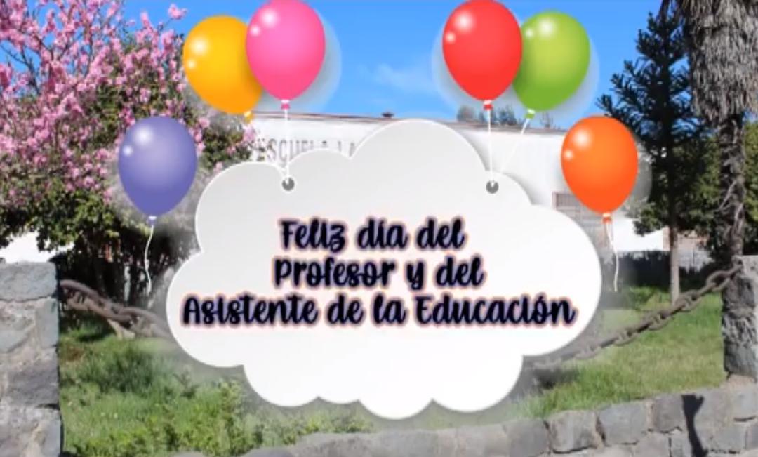 Día del Asistente de la Educación y del Profesor